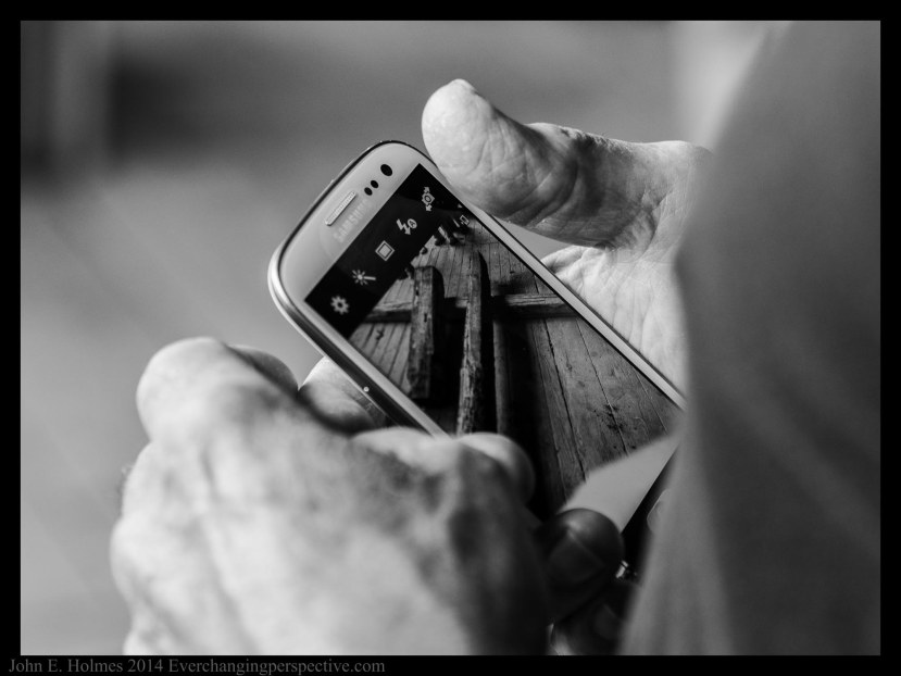 Phone Camera BW